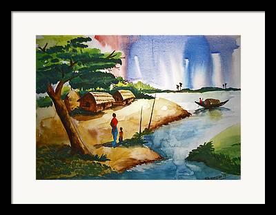 Kasana Framed Prints