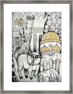 Villages Of My Childhood Framed Print