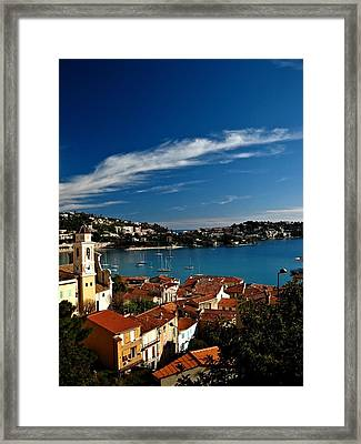 Villefranche-sur-mer Framed Print by Stephanie Tomlinson