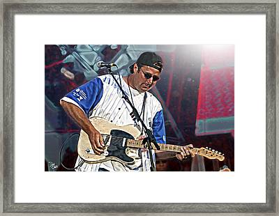 Vince Gill Framed Print by Don Olea