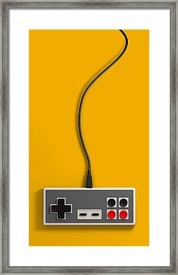 Vintage Gaming Framed Print by Allan Swart