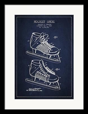 Skate Digital Art Framed Prints