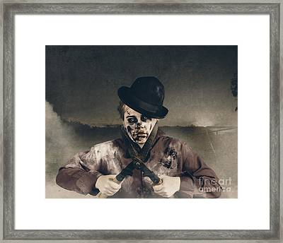 Vintage Horror. Dawn Of The Dead Hedge Framed Print by Jorgo Photography - Wall Art Gallery