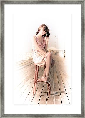 Vintage Lifestyle Portrait Framed Print by Jorgo Photography - Wall Art Gallery