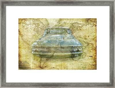 Vintage Mercury Framed Print
