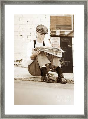 Vintage Times Framed Print by Jorgo Photography - Wall Art Gallery