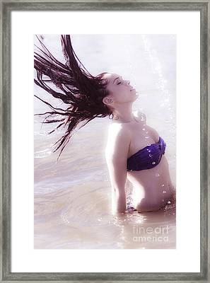 Vintage Water Fun Framed Print by Jorgo Photography - Wall Art Gallery