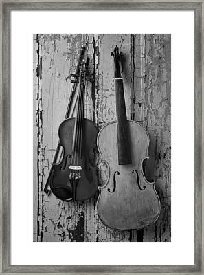 Viola And Violin Framed Print