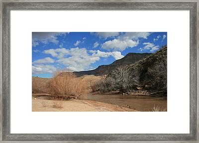 Virgin River Arizona Framed Print