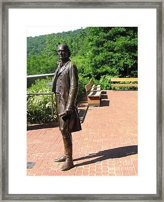 Virgina Monticello Jefferson Framed Print