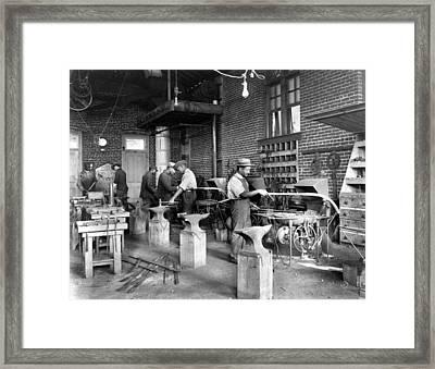 Virginia Blacksmith Framed Print by Granger
