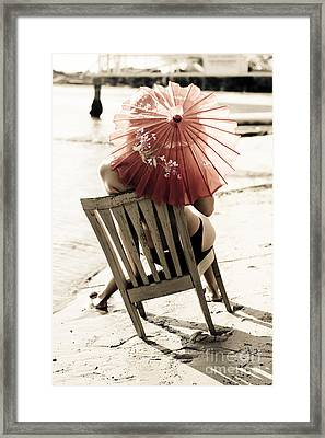 Vision Of A Simple Life Framed Print