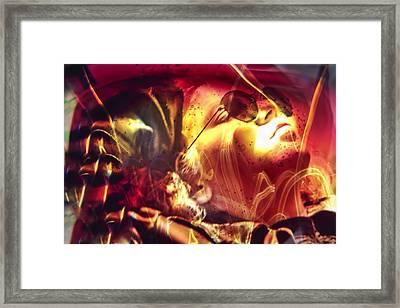 Vision Framed Print by Skip Hunt