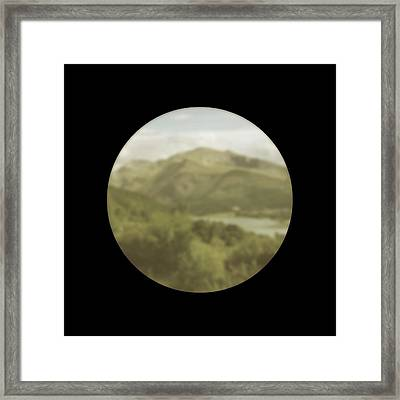 Vision With Cataracts Framed Print