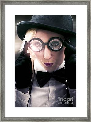 Visionary Insight Framed Print