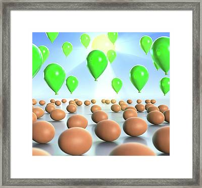 Vitamin D Sources Framed Print by Animated Healthcare Ltd
