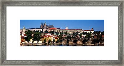 Vltava River, Prague, Czech Republic Framed Print by Panoramic Images
