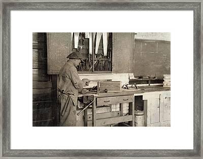 Vocational School, 1917 Framed Print by Granger