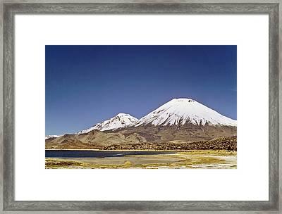 Volcano Parinacota (6342m Framed Print