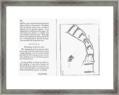 Von Steuben Drill Manual Framed Print by Granger