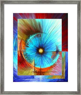 Vortex Framed Print by James Christopher Hill