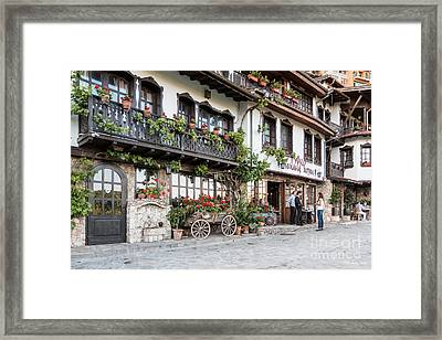 V.turnovo Old City Street View Framed Print by Jivko Nakev