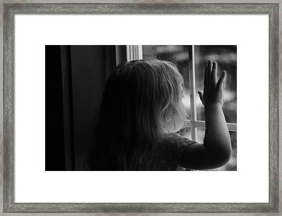 Waiting Framed Print by BandC  Photography