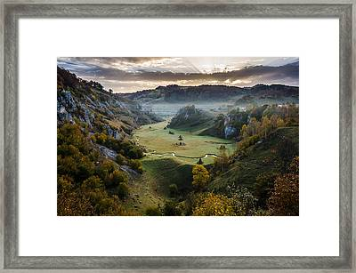 Waiting For The Sunrise Framed Print by Catalin Pomeanu