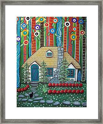 Waiting Framed Print by Karla Gerard