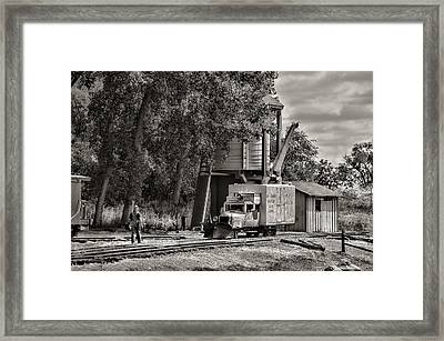Waiting Framed Print by Ken Smith