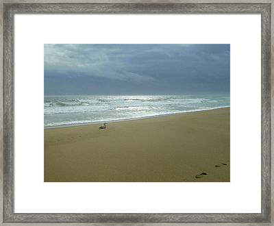 Waiting Framed Print by Lois Lepisto