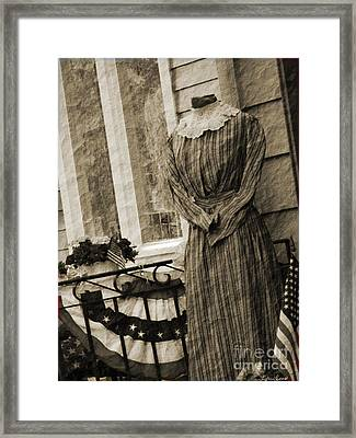 Waiting Framed Print by Lyric Lucas