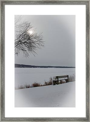 Waiting On Spring Framed Print