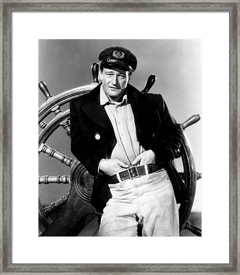 Wake Of The Red Witch, John Wayne, 1948 Framed Print