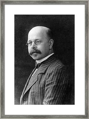 Walther Nernst Framed Print