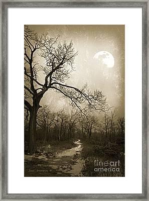 Everlasting Moon Framed Print by John Stephens