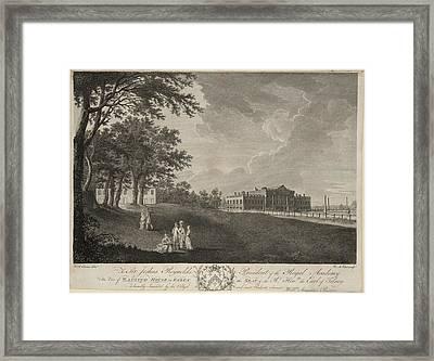 Wanstead House Framed Print