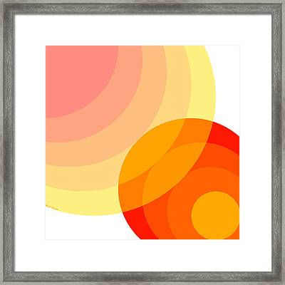 Warmth Framed Print