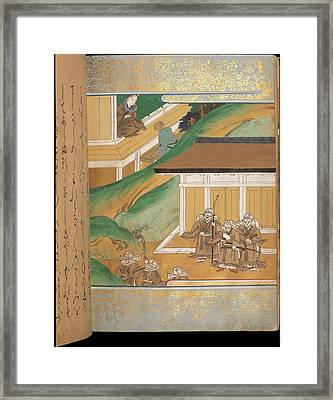 Warrior Monks Framed Print by British Library