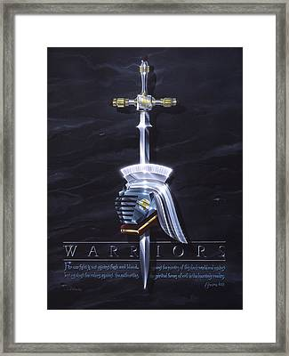 Warriors Framed Print by Cliff Hawley