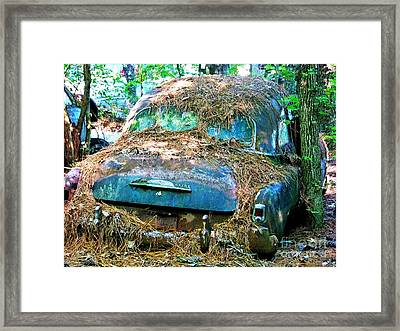 Wash Me Framed Print by Chuck  Hicks