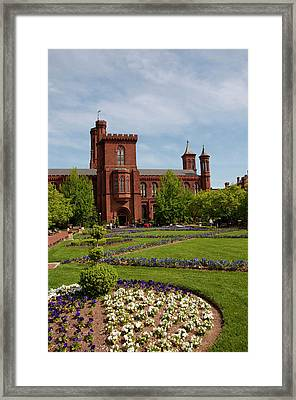 Washington Dc, Smithsonian Headquarters Framed Print by Lee Foster