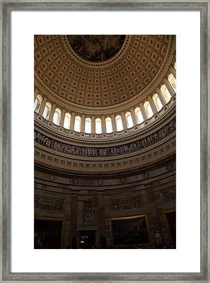 Washington Dc - Us Capitol - 011310 Framed Print by DC Photographer
