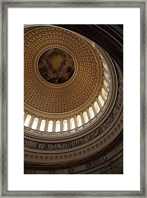 Washington Dc - Us Capitol - 011313 Framed Print by DC Photographer