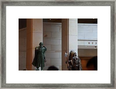 Washington Dc - Us Capitol - 01134 Framed Print by DC Photographer