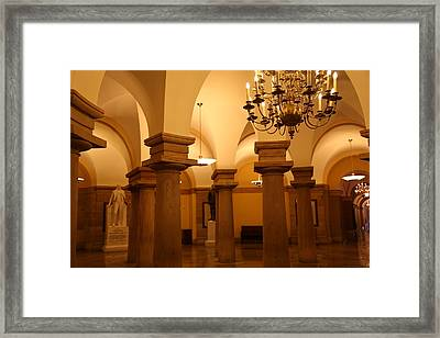 Washington Dc - Us Capitol - 01135 Framed Print by DC Photographer