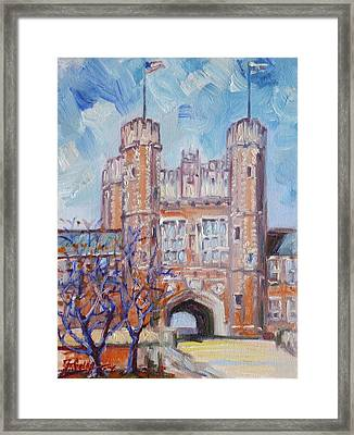 Washington University - St.louis Framed Print