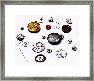 Watch Me  Framed Print