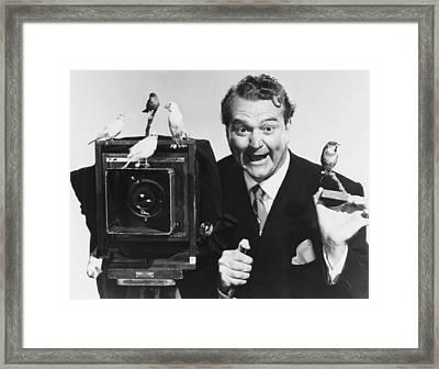 Watch The Birdie, Red Skelton, 1950 Framed Print