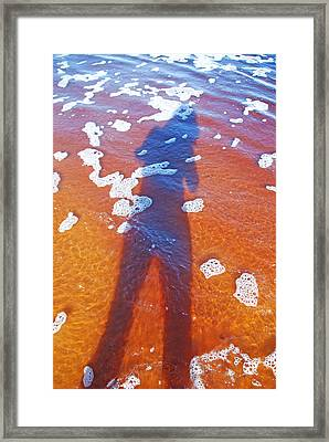 Framed Print featuring the photograph Water Babe by Ankya Klay